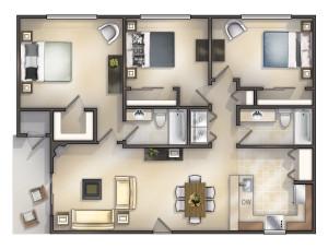3x2 1139 sq ft